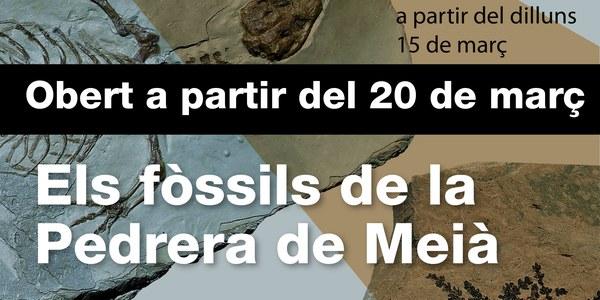 20 de març, reobertura del Centre d'Interpretació del Montsec de Meià