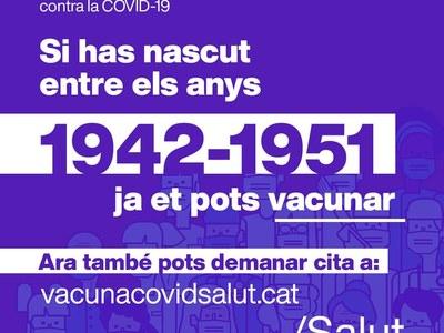 Avís de vacunació Covid