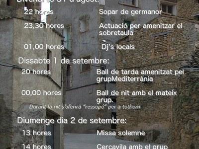 Festa Major de Gàrzola 2018