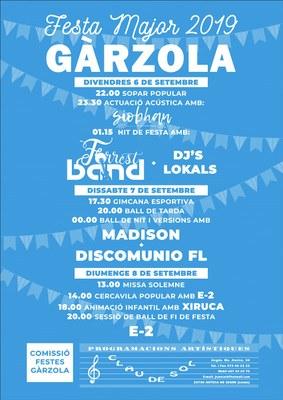 Festa Major de Gàrzola