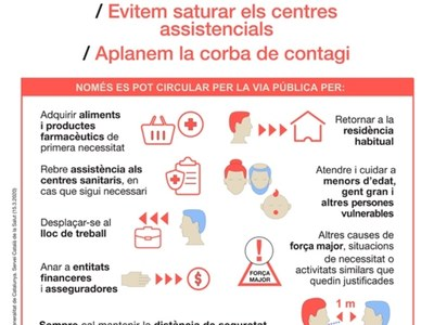 Informació i consells coronavirus SARS-CoV-2