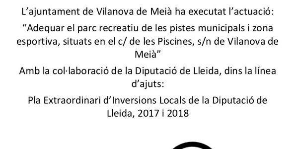 PEIL 2017 -2018 Piscines