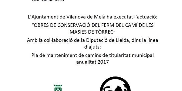 PLA MANTENIMENT CAMINS 2017