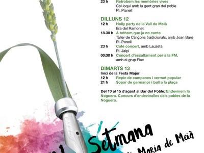 Setmana Cultural de Santa Maria de Meià