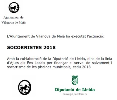 Socorristes 2018