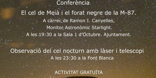 Vilanova de Meià, sota els estels del Montsec